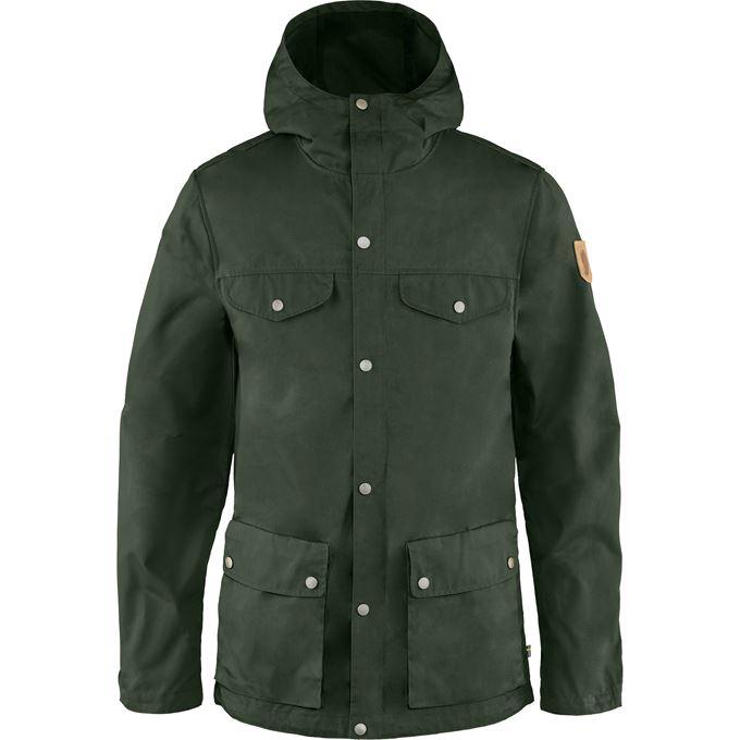 Fjällräven Greenland Jacket M Outdoor jackets Dark green, Green Men's