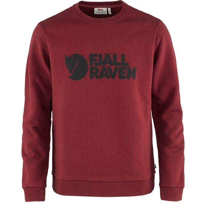 Fjällräven Fjällräven Logo Sweater M Sweaters & knitwear Red Men's