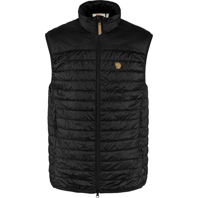 Fjällräven Abisko Padded Vest M Trekking jackets black Men's
