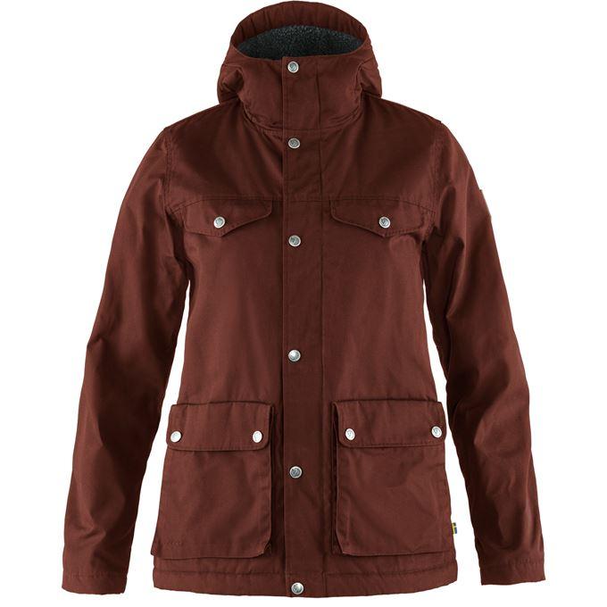 Fjällräven Greenland Winter Jacket W Outdoor jackets burgundy, red Women's