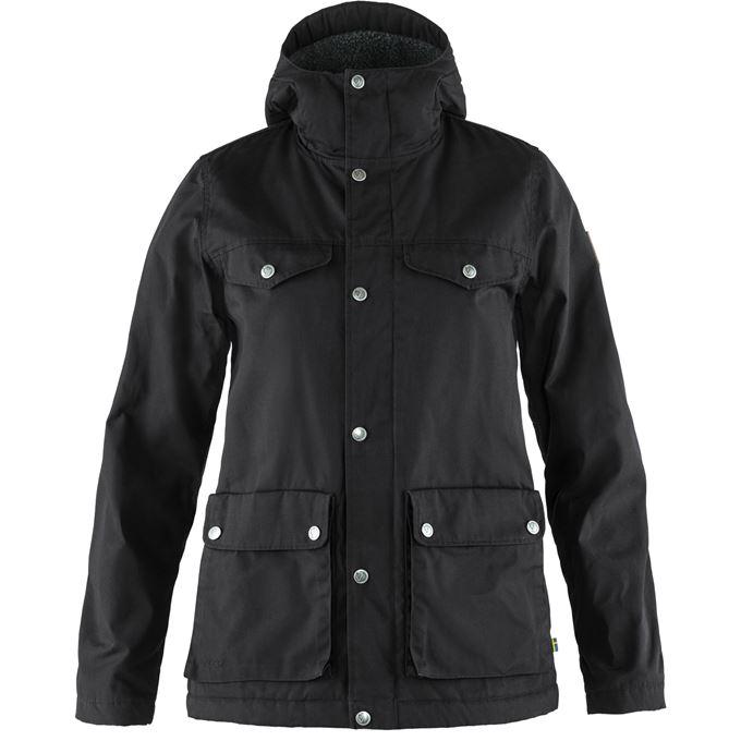Fjällräven Greenland Winter Jacket W Outdoor jackets black Women's