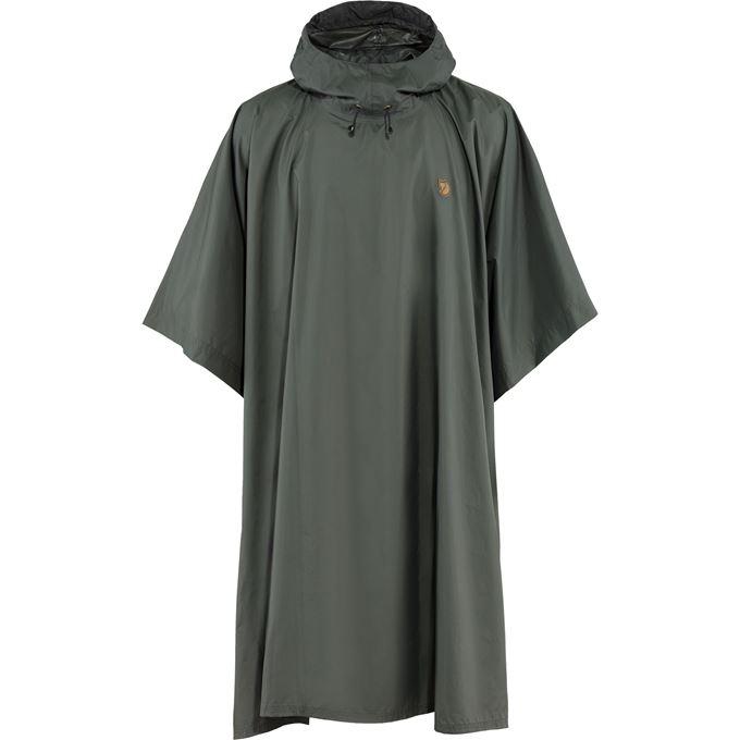Fjällräven Poncho Shell jackets grey Unisex