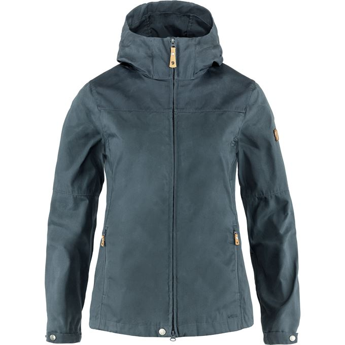 Fjällräven Stina Jacket W Outdoor jackets grey, blue Women's