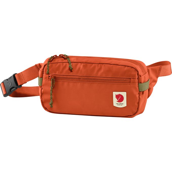 Fjällräven High Coast Hip Pack Daypacks Orange, Red Unisex