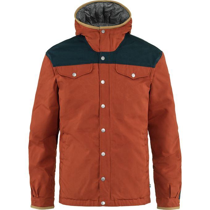 Fjällräven Greenland No. 1 Down Jacket M Down jackets blue, orange Men's
