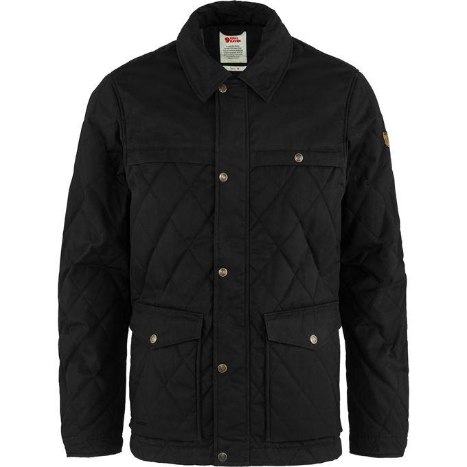 Fjällräven Övik Wool Padded Jacket M Outdoor jackets Black Men's