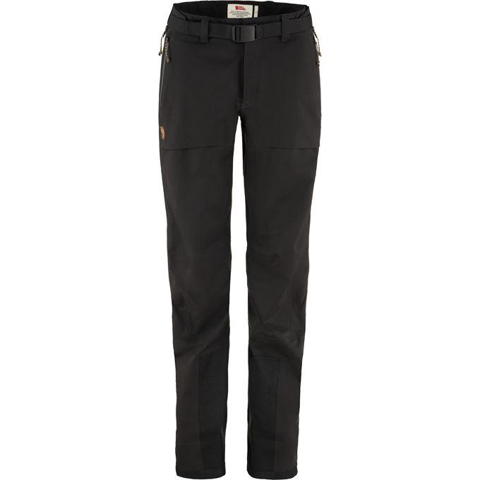Fjällräven Keb Eco-Shell Trousers W Shell trousers black Women's
