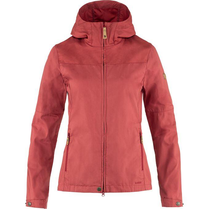 Fjällräven Stina Jacket W Outdoor jackets Red Women's