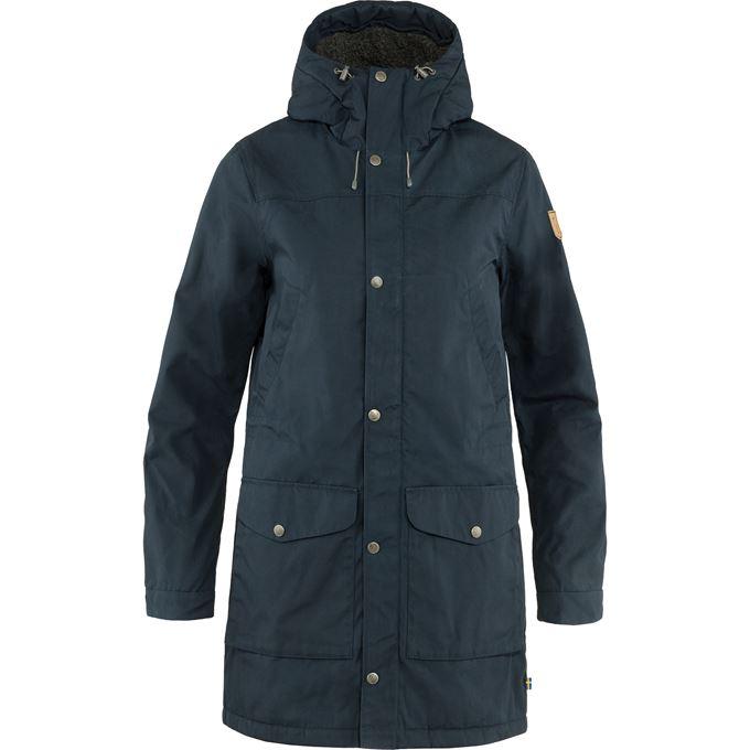 Fjällräven Greenland Winter Parka W Outdoor jackets blue Women's