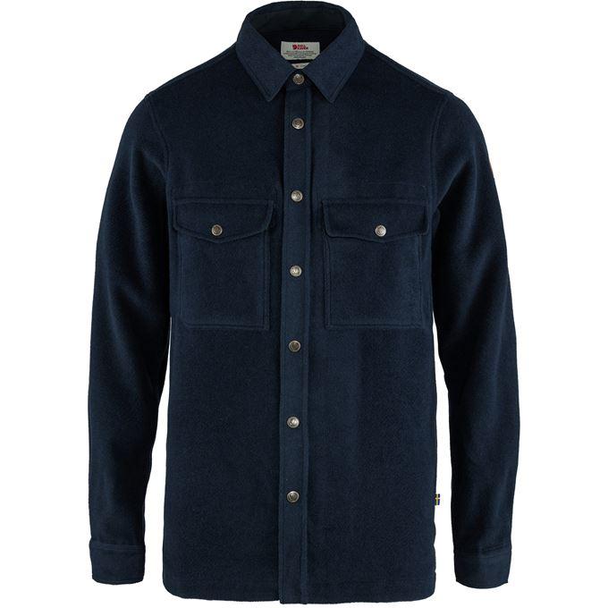 Fjällräven Canada Shirt Solid M Shirts Blue Men's