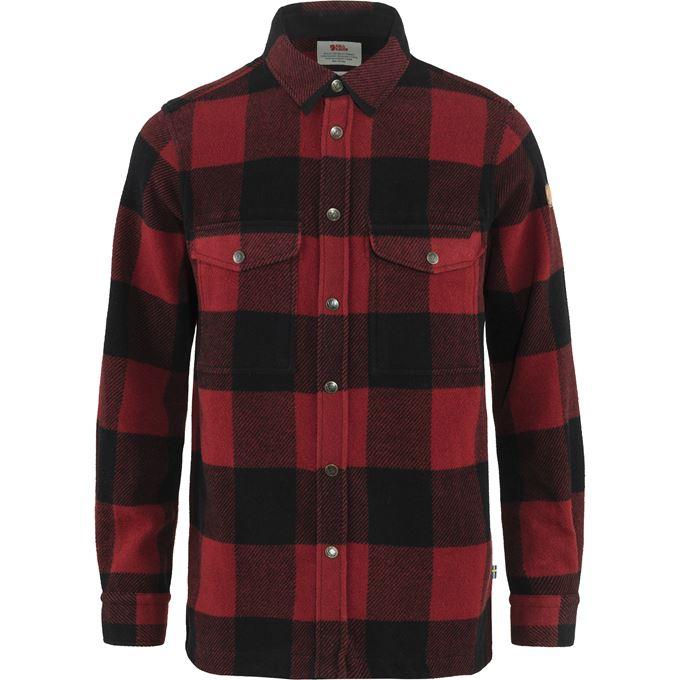 Fjällräven Canada Shirt M Shirts red Men's