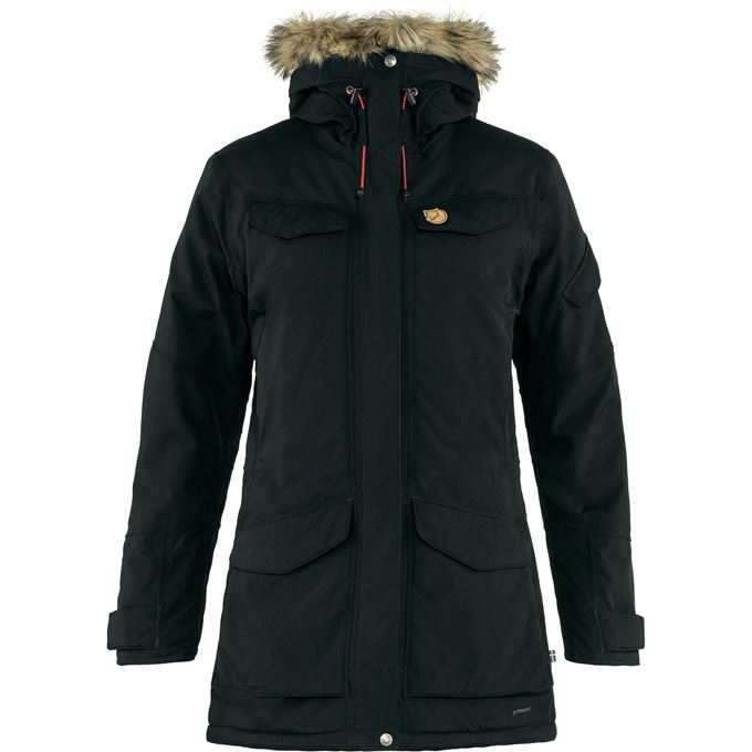 Fjällräven Nuuk Parka W Outdoor jackets black Women's