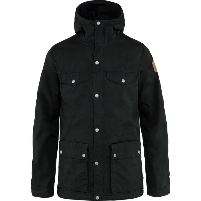 Fjällräven Greenland Jacket M Outdoor jackets Black Men's