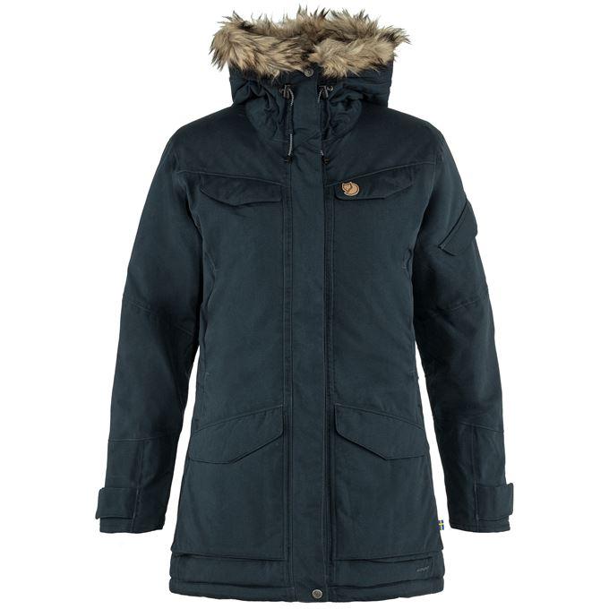 Fjällräven Nuuk Parka W Outdoor jackets blue Women's