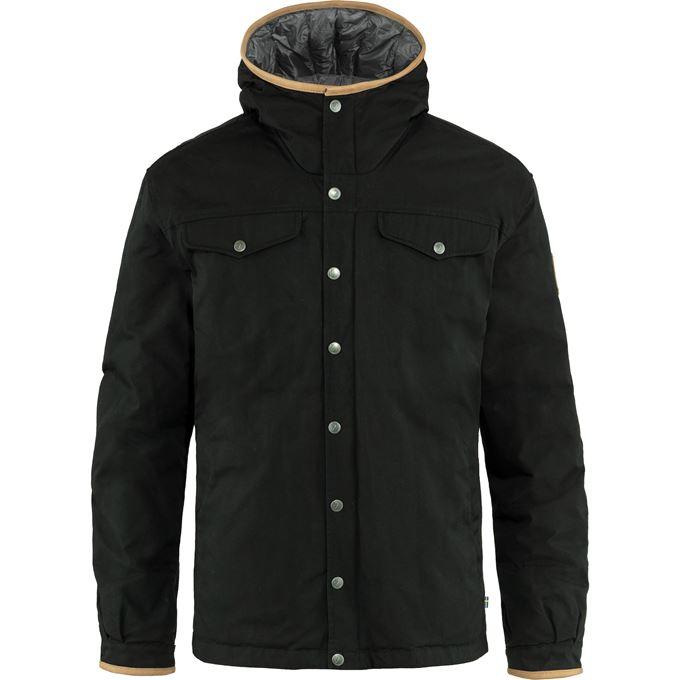 Fjällräven Greenland No. 1 Down Jacket M Down jackets black Men's