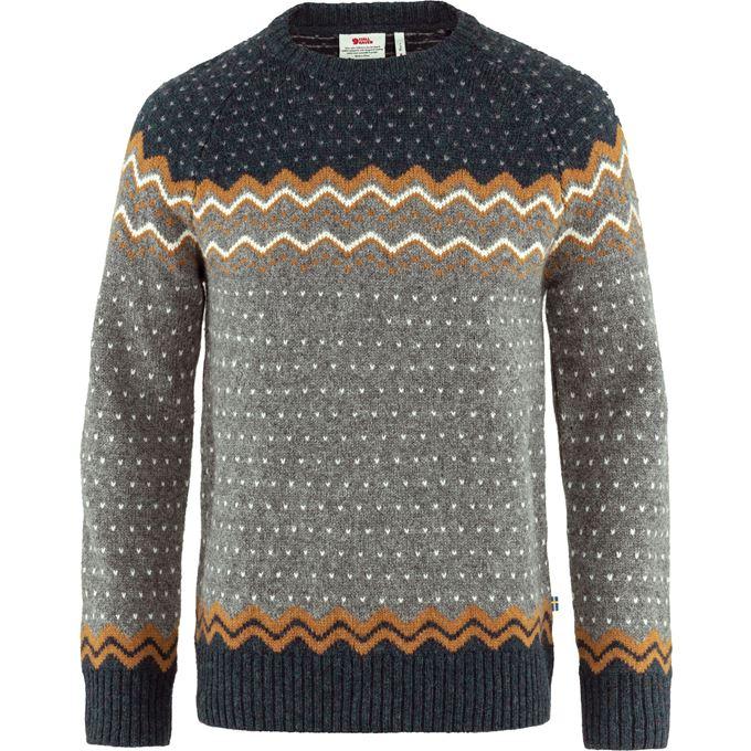 Fjällräven Övik Knit Sweater M Sweaters & knitwear orange, yellow Men's