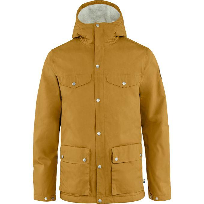 Fjällräven Greenland Winter Jacket M Outdoor jackets orange, yellow Men's