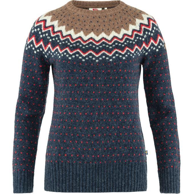 Fjällräven Övik Knit Sweater W Sweaters & knitwear Blue Women's