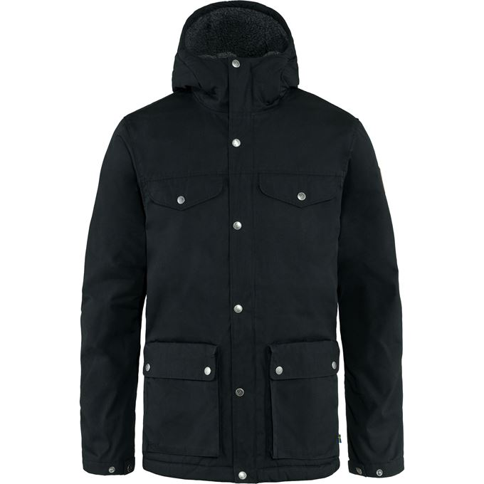 Fjällräven Greenland Winter Jacket M Outdoor jackets black Men's
