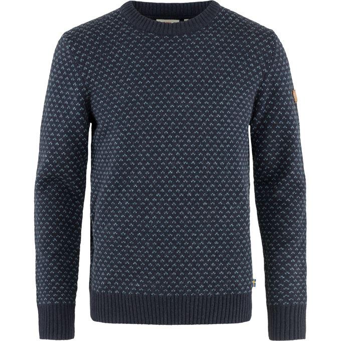 Fjällräven Övik Nordic Sweater M Sweaters & knitwear blue Men's