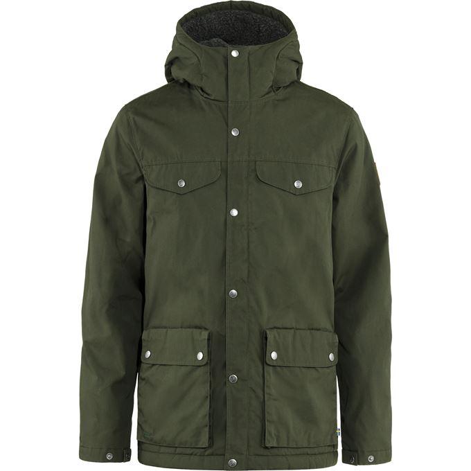 Fjällräven Greenland Winter Jacket M Outdoor jackets dark green, green Men's