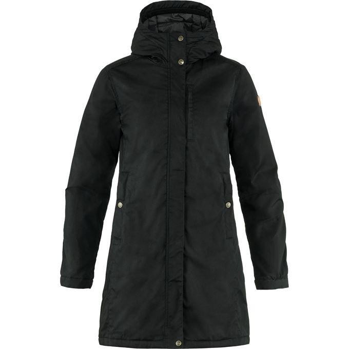 Fjällräven Kiruna Padded Parka W Outdoor jackets black Women's
