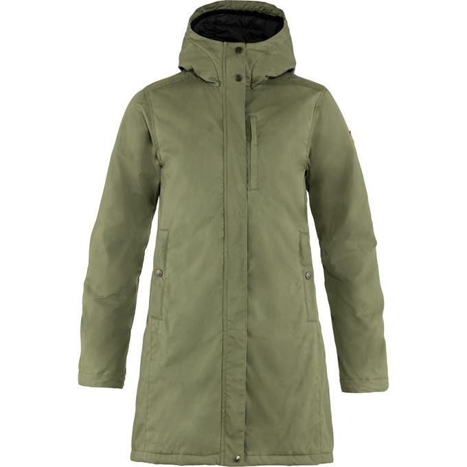 Fjällräven Kiruna Padded Parka W Outdoor jackets green Women's