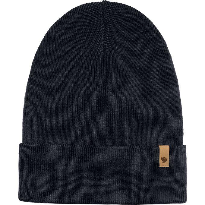 Fjällräven Classic Knit Hat Caps, hats & beanies Blue Unisex