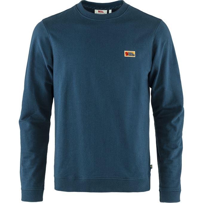 Fjällräven Vardag Sweater M Men's Sweaters & knitwear Blue, Blue Main Front