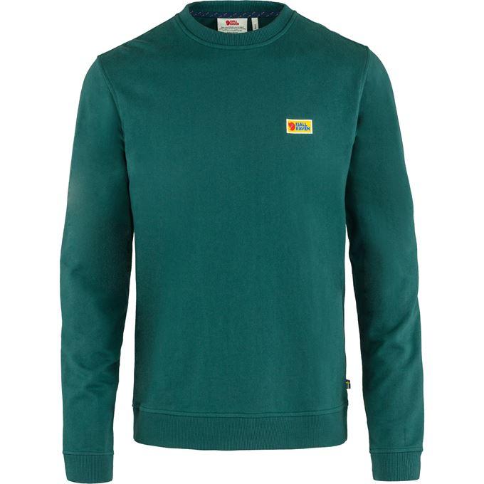 Fjällräven Vardag Sweater M Men's Sweaters & knitwear Dark green, Green, Dark green, Green Main Front