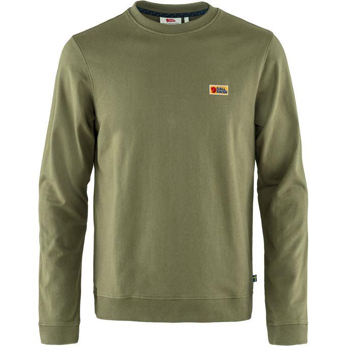 Fjällräven Vardag Sweater M Men's Sweaters & knitwear Green, Green Main Front