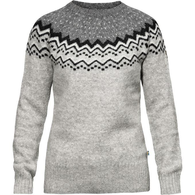 Fjällräven Övik Knit Sweater W Sweaters & knitwear grey Women's