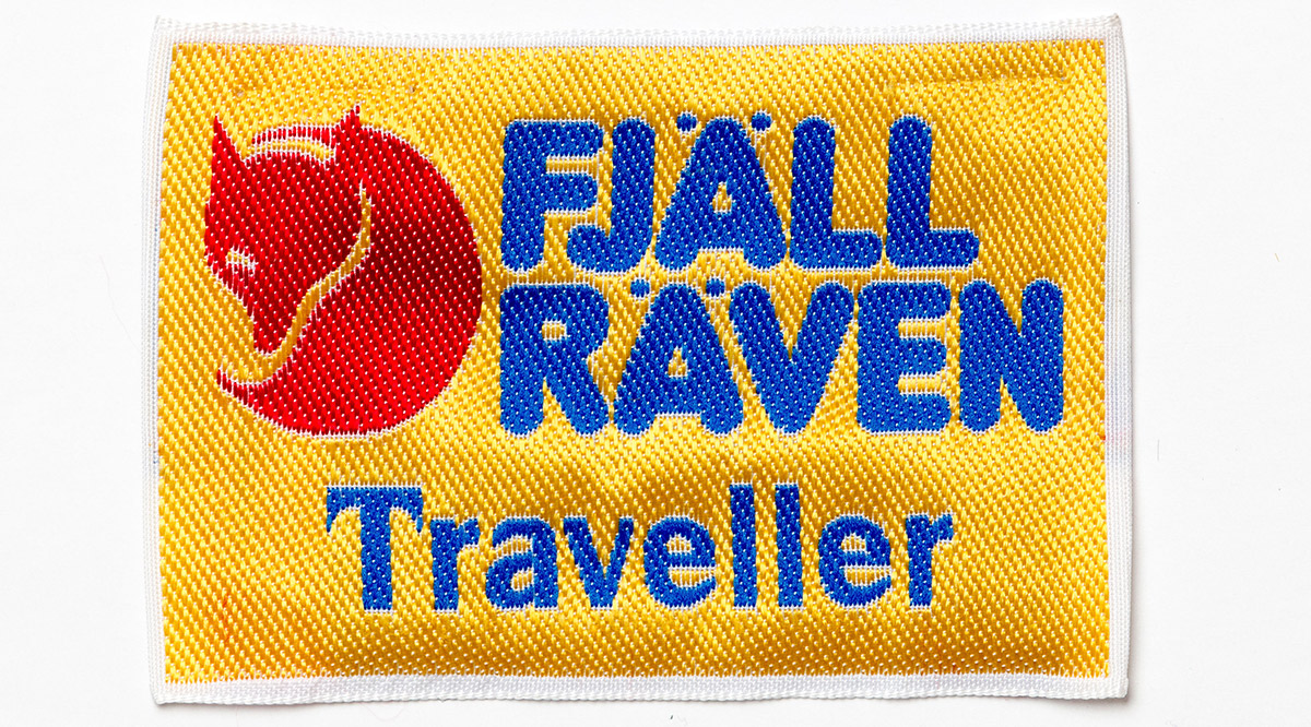 Fjallraven Traveler Yellow Logo