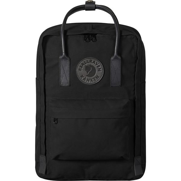 "Fjällräven Kånken No. 2 Laptop 15"" Black Laptop bags black Unisex"