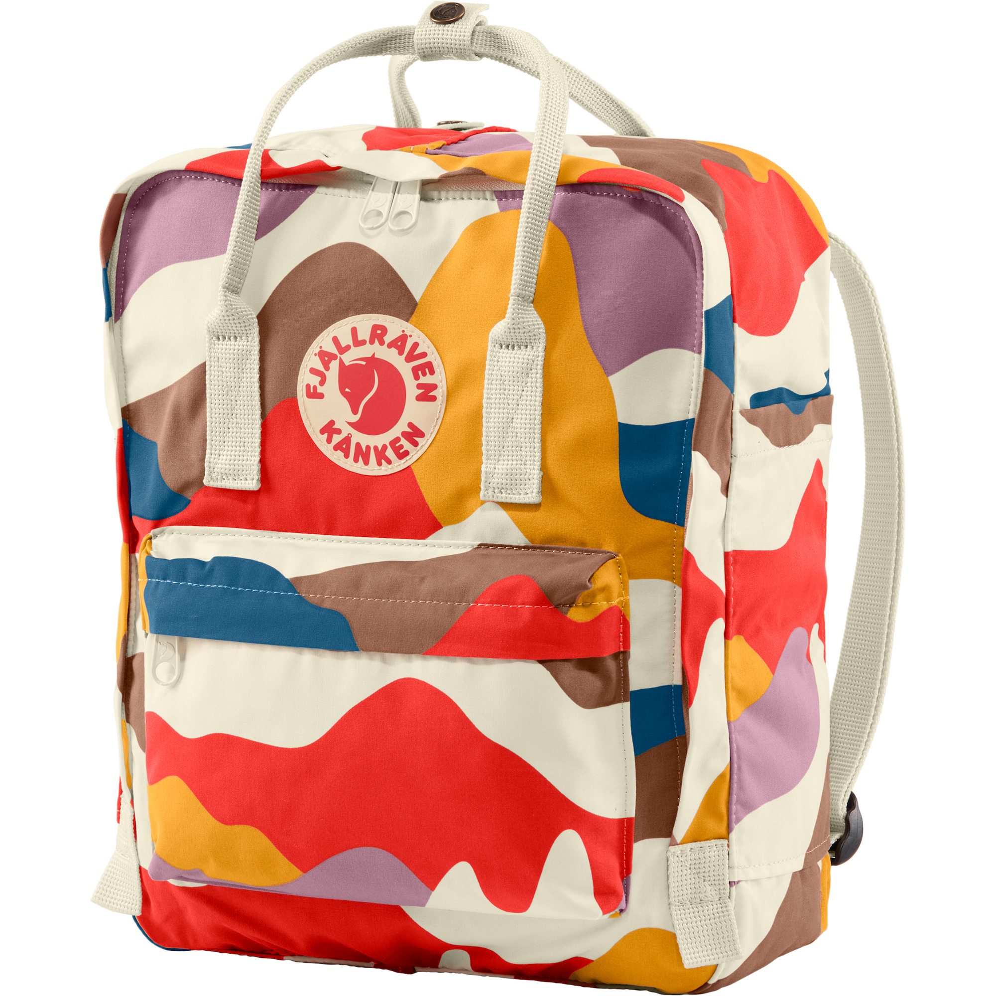 new    Fjallraven Kanken Art 16L Laptop Backpack Spring Landscape    2019