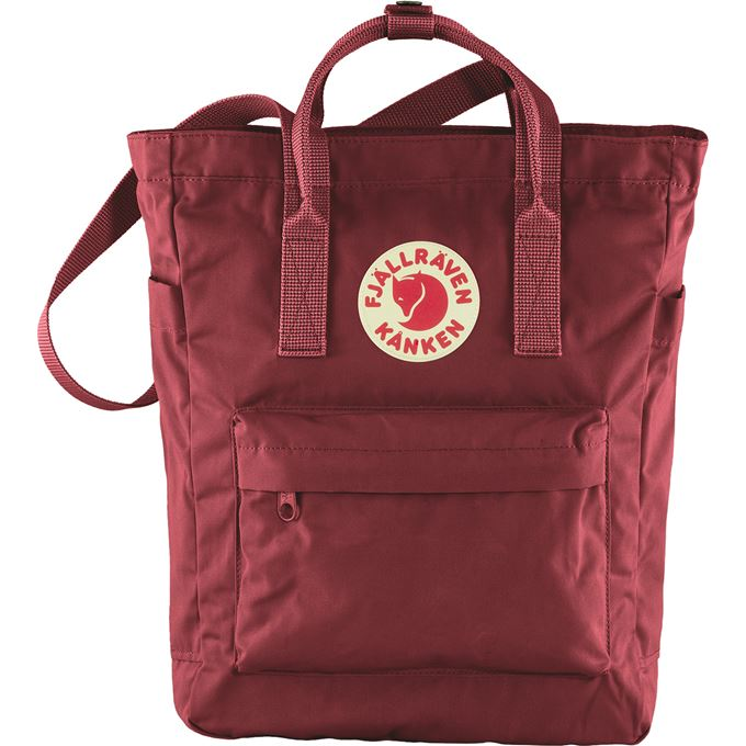 Fjällräven Kånken Totepack Laptop bags Burgundy, Red Unisex