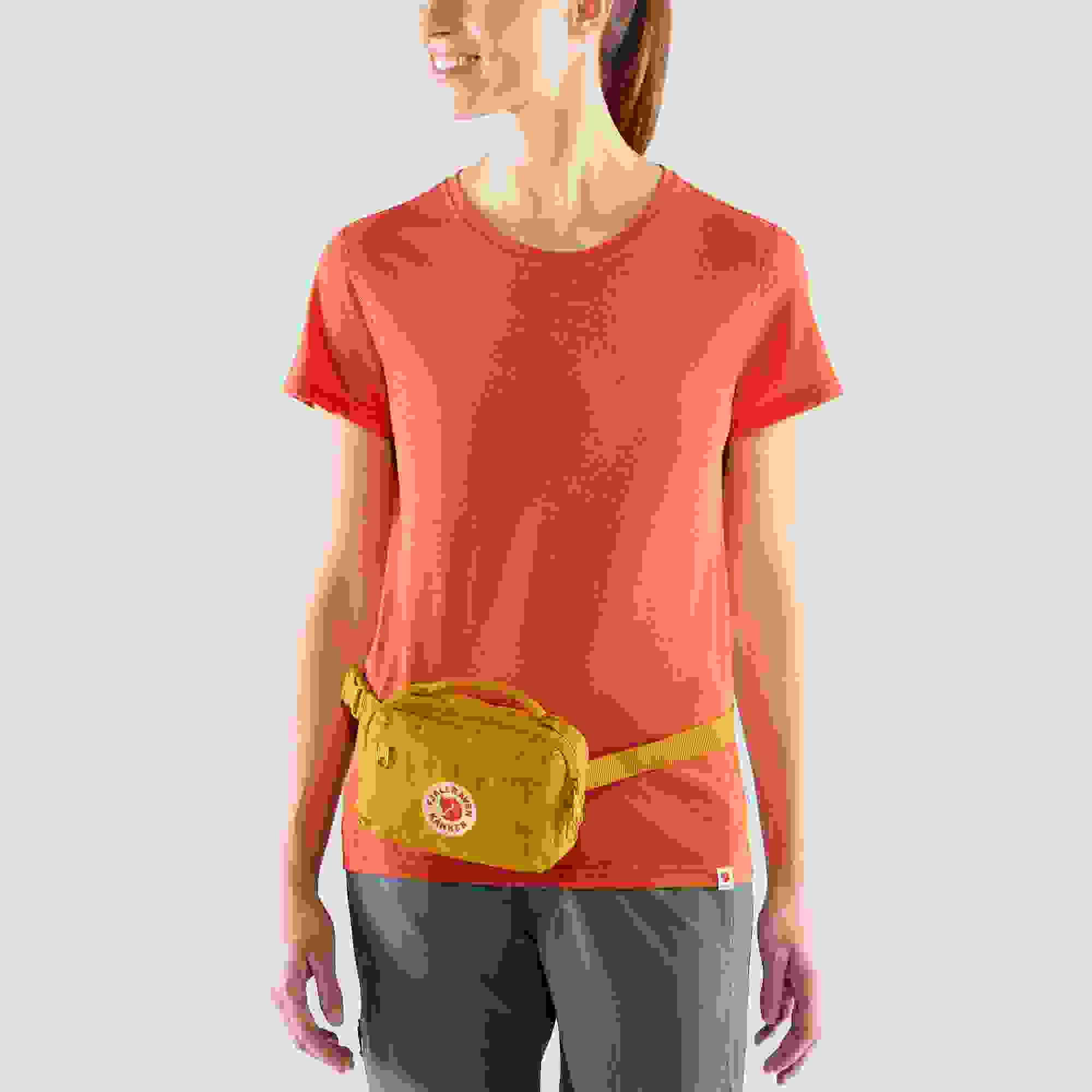 Fjallraven Kanken Hip Pack with Waist Belt for Everyday Use and Travel