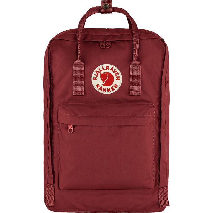 "Fjällräven Kånken Laptop 17"" Laptop bags burgundy, red Unisex"