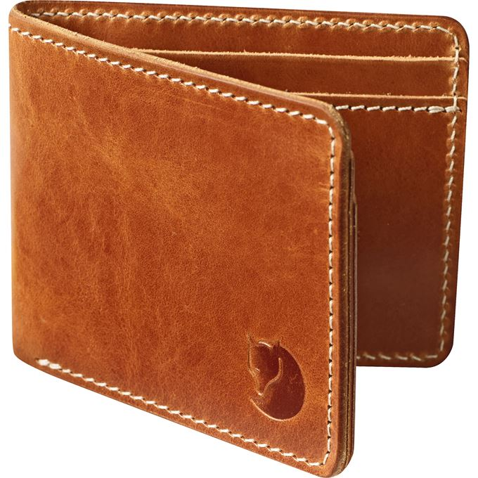 Fjällräven Övik Wallet Travel accessories Brown Unisex