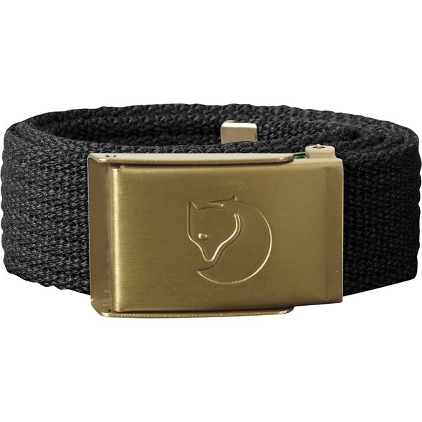 Kids Canvas Brass Belt