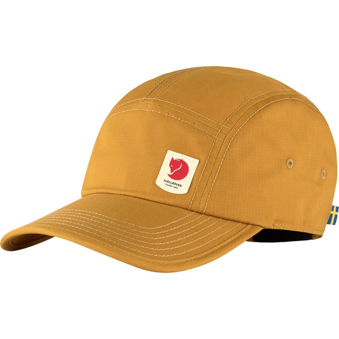 Fjällräven High Coast Lite Cap Caps, hats & beanies Yellow Unisex