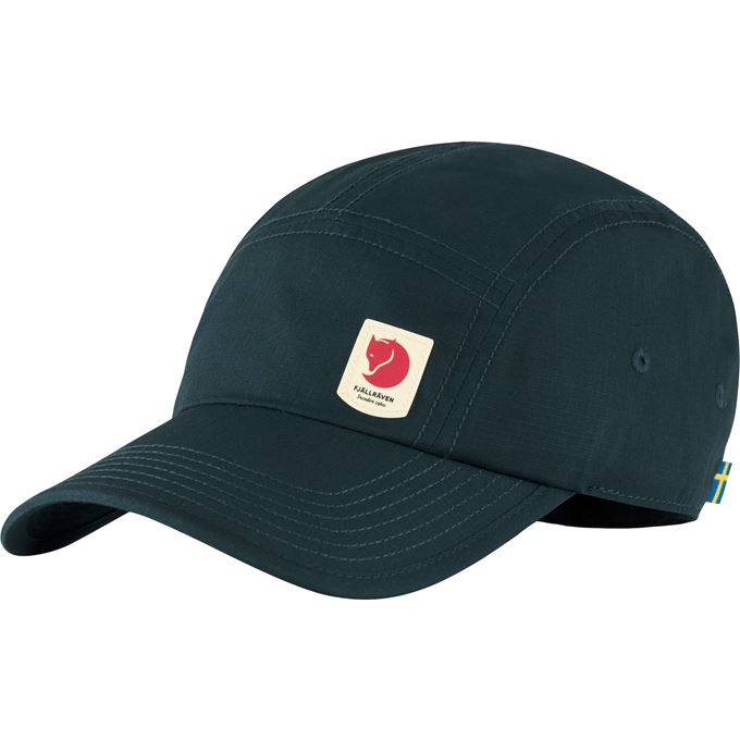 Fjällräven High Coast Lite Cap Caps, hats & beanies Blue Unisex
