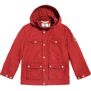 Fjällräven Kids Greenland Jacket Kids jackets red Children's