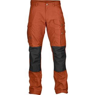 Fjällräven Vidda Pro Trousers M Reg Trekking trousers grey, orange Men's