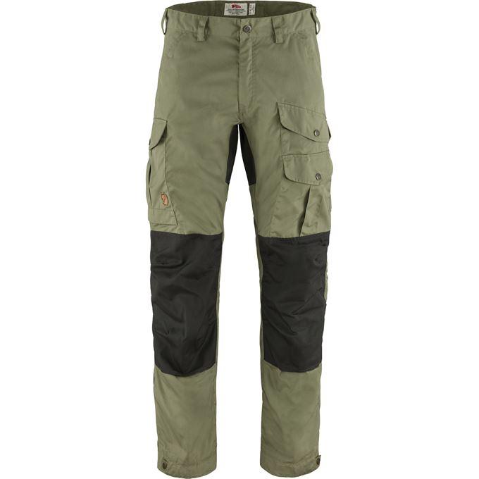 Fjällräven Vidda Pro Trousers M Long Trekking trousers Grey, Green, Grey, Green Men's