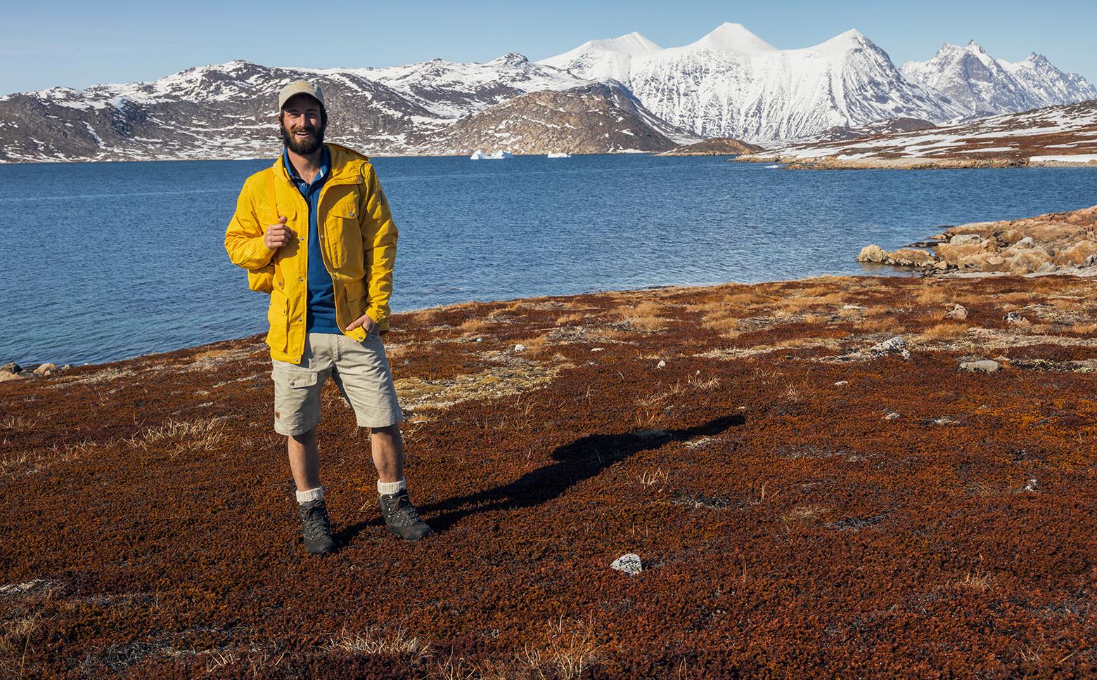 FJ/ÄLLR/ÄVEN Herren Greenland Shorts