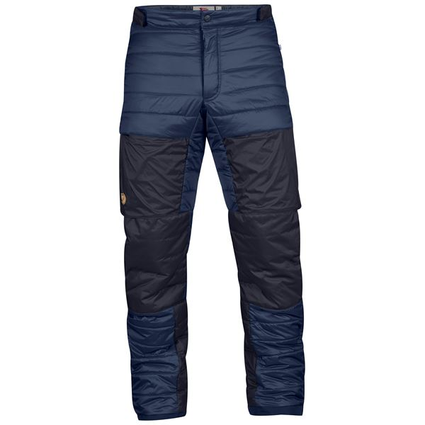 Fjällräven Keb Touring Padded Trousers M Insulated trousers blue Men's