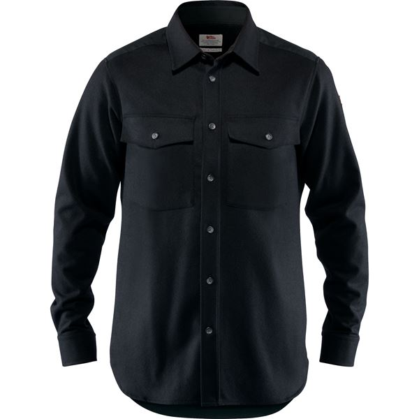 Övik Re-Wool Shirt LS M