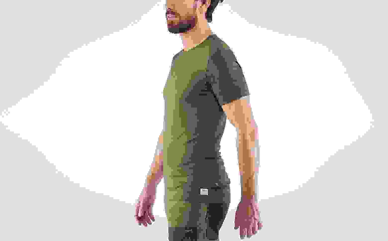 FJALLRAVEN Mens Keb Wool T-Shirt Print M T-Shirt