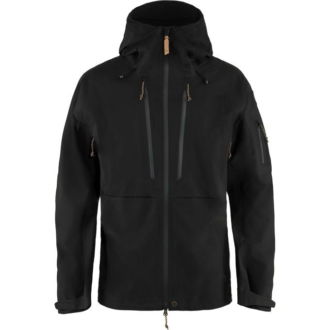 Fjällräven Keb Eco-Shell Jacket M Shell jackets black Men's
